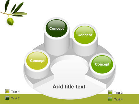 Olive Tree PowerPoint Template Slide 12