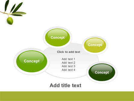 Olive Tree PowerPoint Template Slide 16