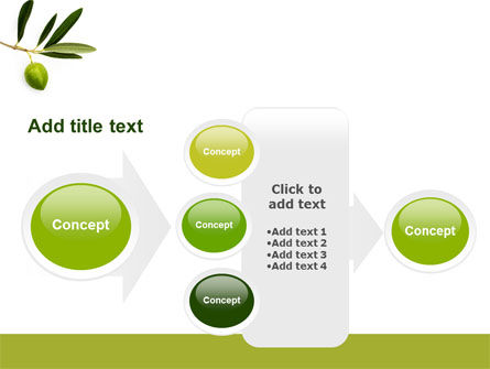 Olive Tree PowerPoint Template Slide 17