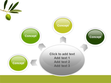 Olive Tree PowerPoint Template Slide 7