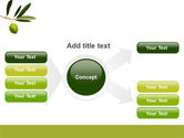 Olive Tree PowerPoint Template#14