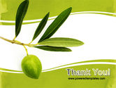 Olive Tree PowerPoint Template#20