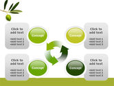 Olive Tree PowerPoint Template#9