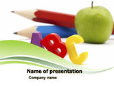 Education & Training: Start Education PowerPoint Template #05823