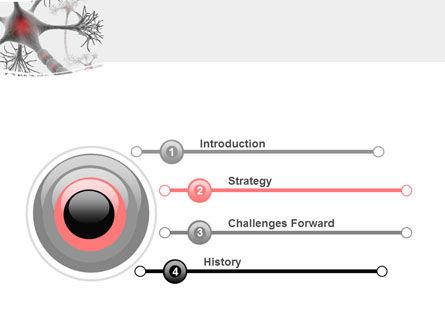Neural Nodes PowerPoint Template, Slide 3, 05826, Medical — PoweredTemplate.com