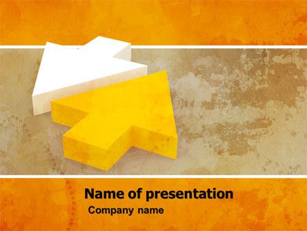 Contrast Direction PowerPoint Template