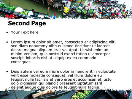 Thailand PowerPoint Template, Slide 2, 05830, Food & Beverage — PoweredTemplate.com