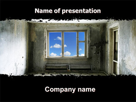 Ruined Apartment PowerPoint Template