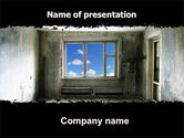 Consulting: Ruined Apartment PowerPoint Template #05831