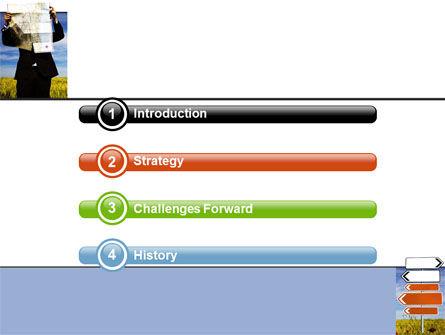Choosing Root PowerPoint Template, Slide 3, 05832, Business Concepts — PoweredTemplate.com