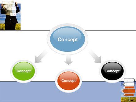 Choosing Root PowerPoint Template, Slide 4, 05832, Business Concepts — PoweredTemplate.com