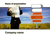 Business Concepts: Choosing Root PowerPoint Template #05832