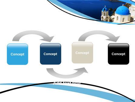 Greek Island PowerPoint Template Slide 4