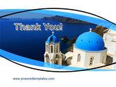 Greek Island PowerPoint Template#20