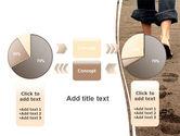 Sand Footprints PowerPoint Template#16