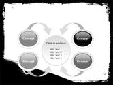 Black And White Scissors PowerPoint Template#6