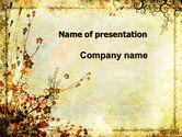 Nature & Environment: Templat PowerPoint Floristry #05838