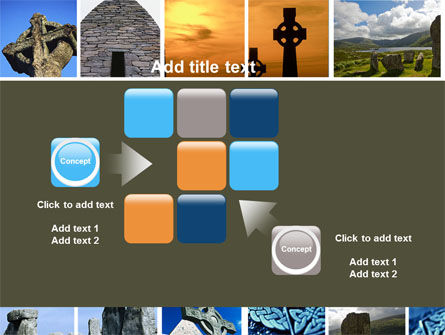 Celtic Revival PowerPoint Template Slide 16