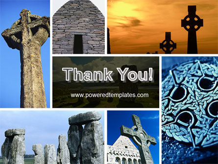 Celtic Revival PowerPoint Template Slide 20
