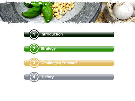 Garlic PowerPoint Template, Slide 3, 05842, Food & Beverage — PoweredTemplate.com