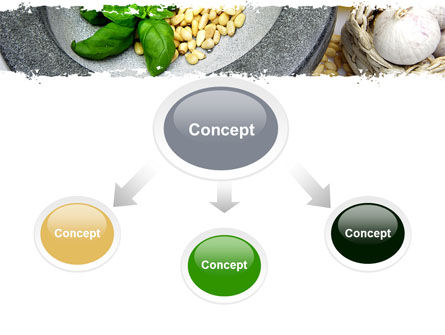 Garlic PowerPoint Template, Slide 4, 05842, Food & Beverage — PoweredTemplate.com