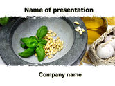 Food & Beverage: Garlic PowerPoint Template #05842
