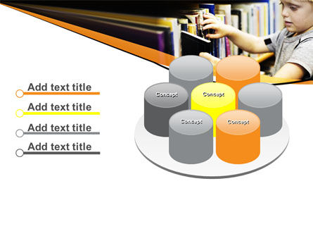 Childrens Library PowerPoint Template Slide 12