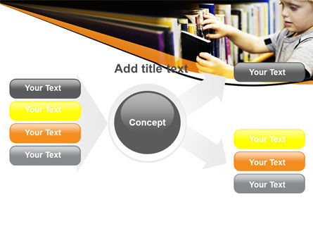 Childrens Library PowerPoint Template Slide 15