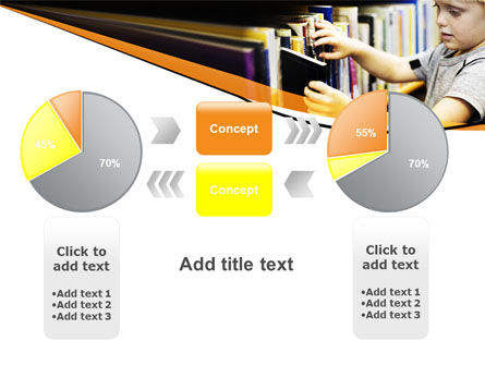 Childrens Library PowerPoint Template Slide 16