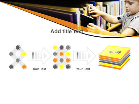 Childrens Library PowerPoint Template Slide 9