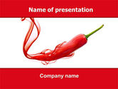 Food & Beverage: Chili Pepper PowerPoint Template #05845