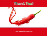 Chili Pepper PowerPoint Template#20