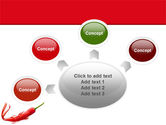 Chili Pepper PowerPoint Template#7