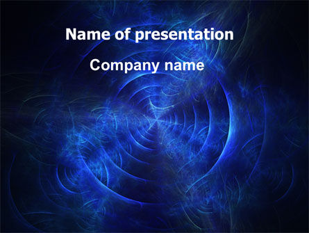 Abstract/Textures: Time Continuum PowerPoint Template #05846