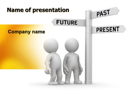 Present Past PowerPoint Template