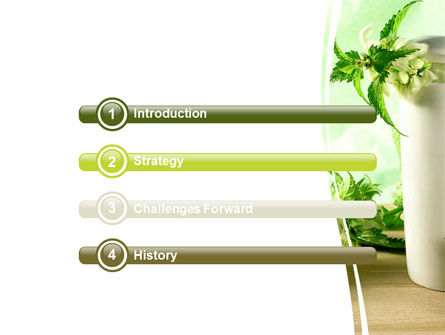 Nettle PowerPoint Template, Slide 3, 05848, Nature & Environment — PoweredTemplate.com