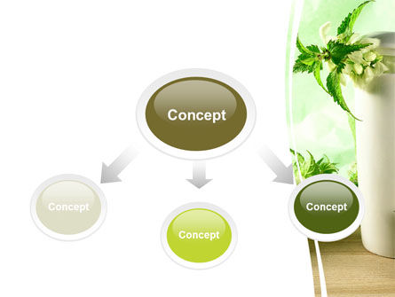 Nettle PowerPoint Template, Slide 4, 05848, Nature & Environment — PoweredTemplate.com