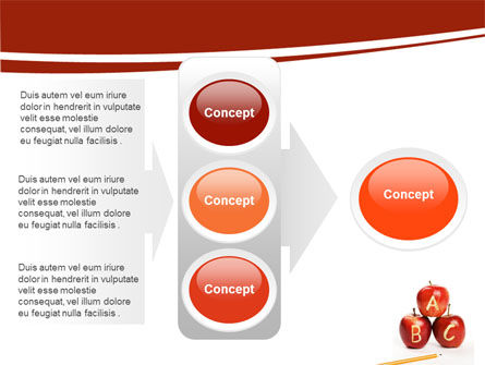 Apples ABC PowerPoint Template Slide 11