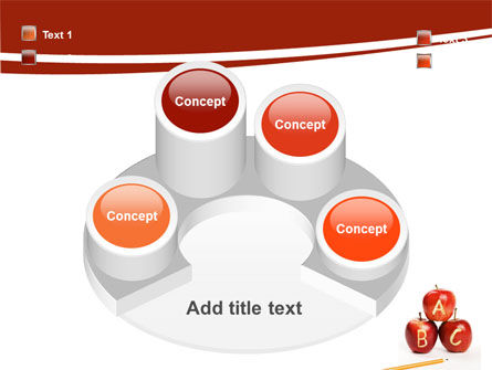 Apples ABC PowerPoint Template Slide 12