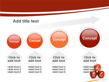 Apples ABC PowerPoint Template Slide 13