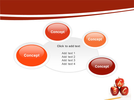Apples ABC PowerPoint Template Slide 16
