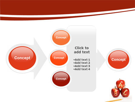 Apples ABC PowerPoint Template Slide 17