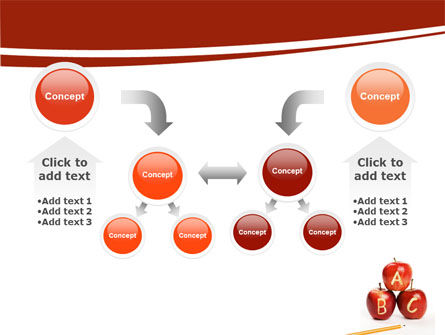 Apples ABC PowerPoint Template Slide 19
