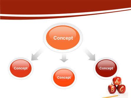 Apples ABC PowerPoint Template Slide 4