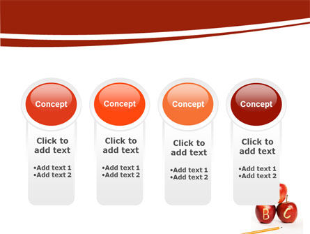 Apples ABC PowerPoint Template Slide 5