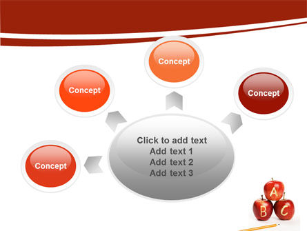 Apples ABC PowerPoint Template Slide 7