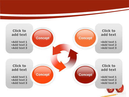 Apples ABC PowerPoint Template Slide 9