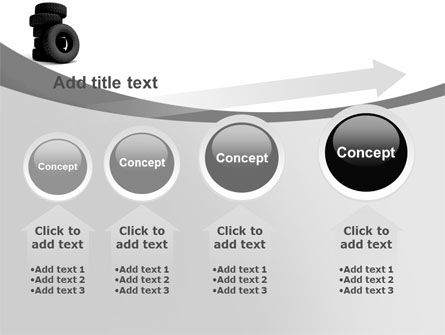 Tires PowerPoint Template Slide 13