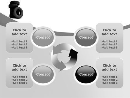 Tires PowerPoint Template Slide 9