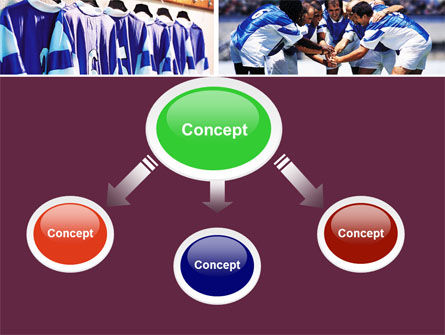 Soccer Team PowerPoint Template, Slide 4, 05851, Sports — PoweredTemplate.com